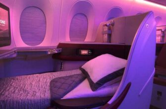 Qatar_a350 business seat lie flat