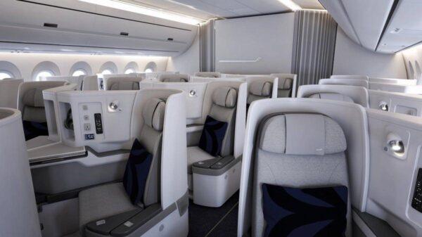 finnair nordic business class cabin data