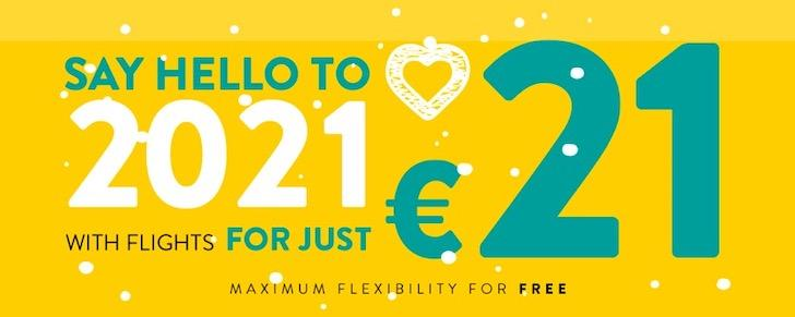 Vueling promo _Say hello to 2021