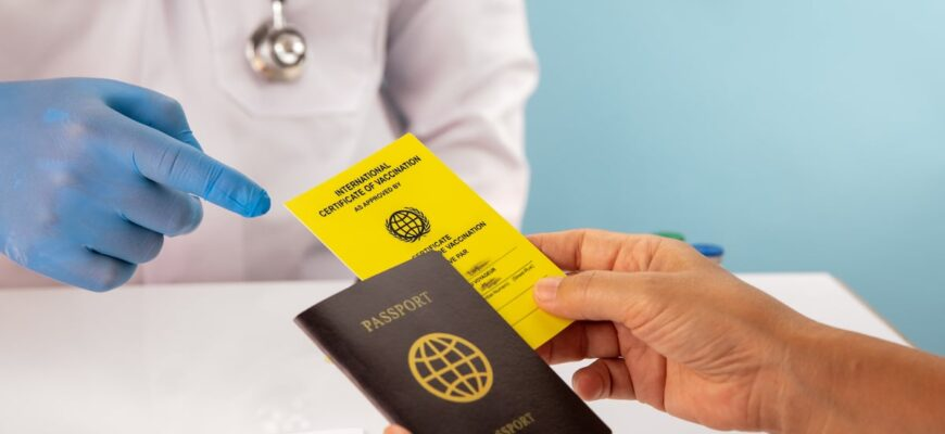 covid passports get international certificate vaccination before travel