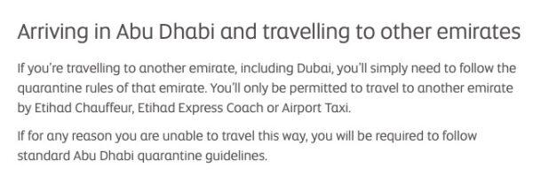 Etihad Airways _transit Abu Dhabi